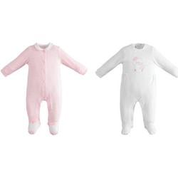 textil Niña Conjunto Ido 42152 Blanco / rosa