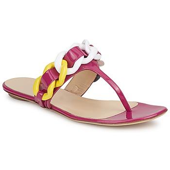 Zapatos Mujer Chanclas Versus by Versace FSD364C Rosa / Blanco / Amarillo