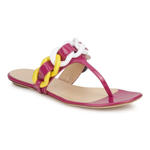 Casual salvaje Zapatos especiales Versus by Versace FSD364C Rosa / Blanco / Amarillo