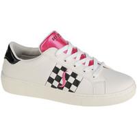 Zapatos Mujer Zapatillas bajas Skechers Goldie-Check Em Blanc
