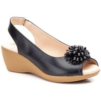 Zapatos Mujer Sandalias Cbp - Conbuenpie Sandalias Confort de piel  by CBP Noir
