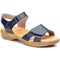 Zapatos Mujer Sandalias Cbp - Conbuenpie Sandalias Confort de piel by CBP Bleu