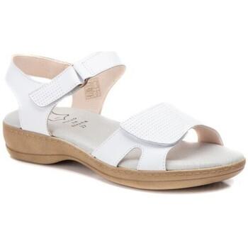 Zapatos Mujer Sandalias Cbp - Conbuenpie Sandalias Confort de piel by CBP Blanc