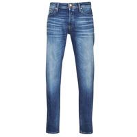 textil Hombre Vaqueros slim Jack & Jones JJIMIKE Azul / Medium