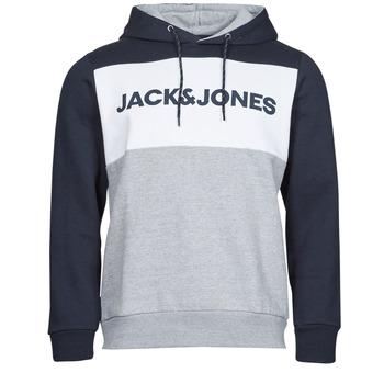 textil Hombre Sudaderas Jack & Jones JJELOGO Marino