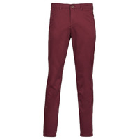 textil Hombre Pantalones chinos Jack & Jones JJIMARCO Burdeo