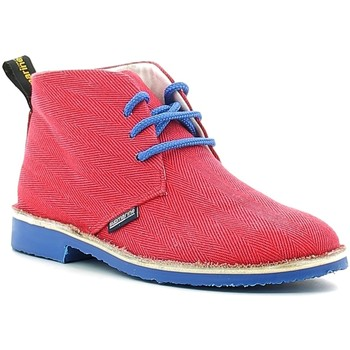 Zapatos Niños Botas de caña baja Submariine London SMLK610030 Rojo