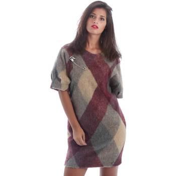 textil Mujer Vestidos cortos Y Not? Y17AI048 Gris