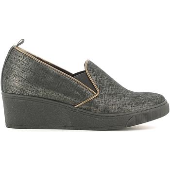 Zapatos Mujer Mocasín Grunland SC2057 Negro