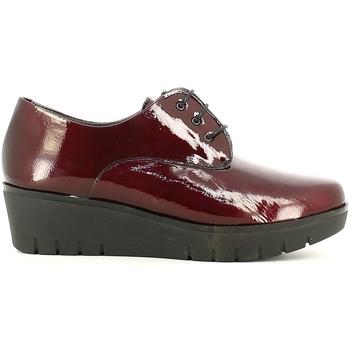 Zapatos Mujer Derbie Pitillos 1900 Rojo