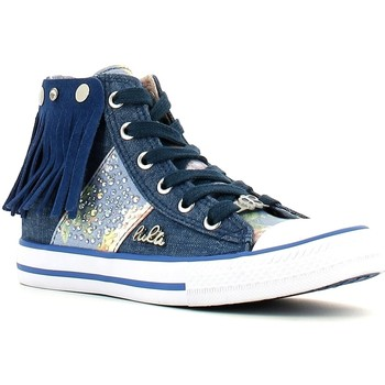 Zapatos Niña Zapatillas altas Lulu LV010060T Azul