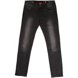 textil Hombre Vaqueros rectos Gaudi 721BU26044 Negro