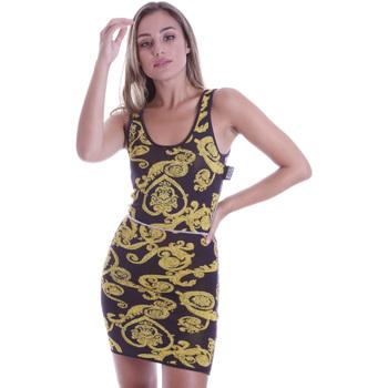 textil Mujer Vestidos cortos Versace B4HVB81050414KA9 Negro