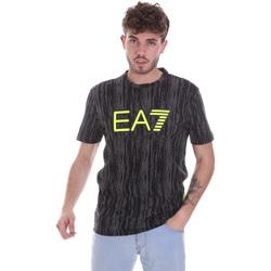 textil Hombre Camisetas manga corta Ea7 Emporio Armani 6HPT04 PJB1Z Negro