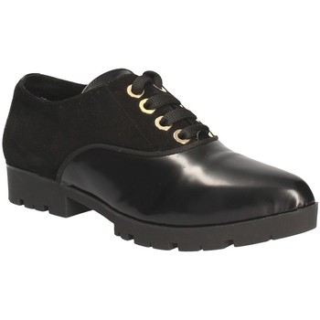 Zapatos Mujer Derbie Byblos Blu 6MBS41 Negro