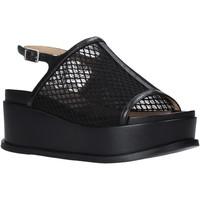 Zapatos Mujer Sandalias Apepazza S0CHER04/NET Negro
