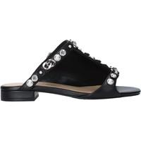 Zapatos Mujer Zuecos (Mules) Apepazza S0PETIT09/LEA Negro