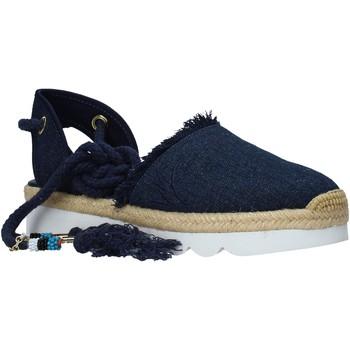 Zapatos Mujer Alpargatas Manila Grace S617DU Azul