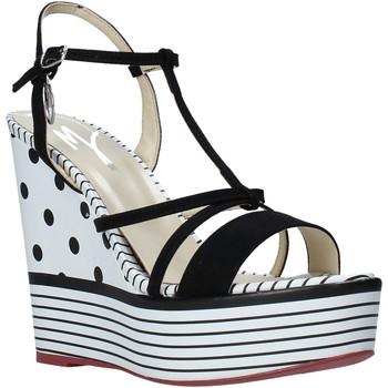 Zapatos Mujer Sandalias Manila Grace S605LP Negro