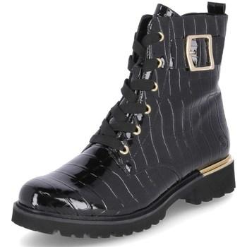 Zapatos Mujer Botas de caña baja Remonte Dorndorf D868302 Negros