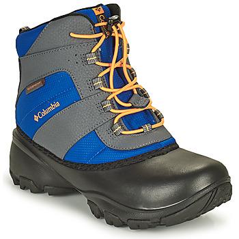 Zapatos Niños Senderismo Columbia YOUTH ROPE TOW BOY Azul / Naranja