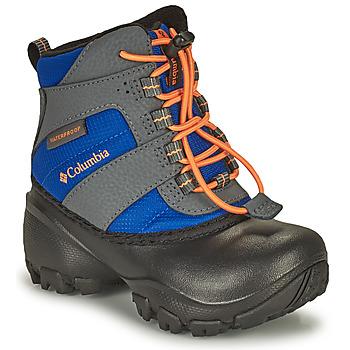 Zapatos Niños Botas de nieve Columbia CHILDRENS ROPE TOW Azul / Naranja