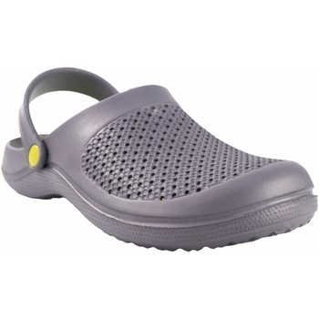 Zapatos Hombre Zuecos (Clogs) Kelara Playa caballero  92008 gris Gris
