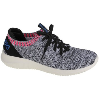 Zapatos Mujer Zapatillas bajas Skechers Ultra Flexrapid Attention Grises