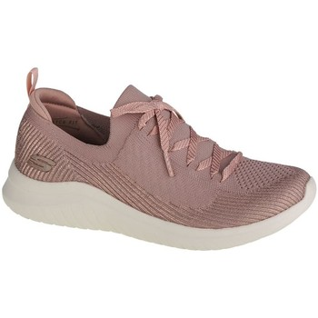 Zapatos Mujer Zapatillas bajas Skechers Ultra Flex 20LASER Focus Rosa