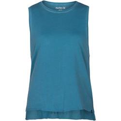 textil Mujer Camisetas sin mangas Hurley W Wash Biker Tank