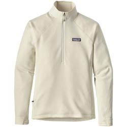 textil Hombre Polaire Patagonia ws crosstrek 1/4 zip birch white