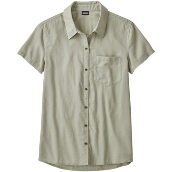textil Hombre Camisas manga corta Patagonia ws lw a/c top desert sage