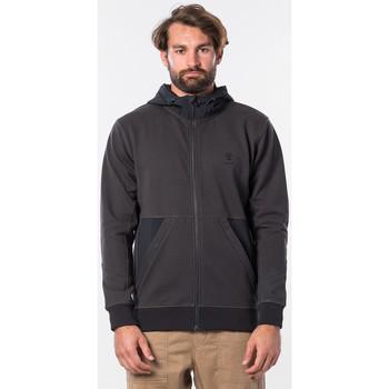 textil Hombre Sudaderas Rip Curl adventurer anti-series fleece washed black