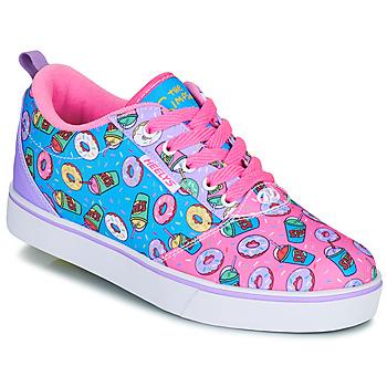 Zapatos Niños Zapatos con ruedas Heelys PRO 20 Rosa / Lavanda / Azul