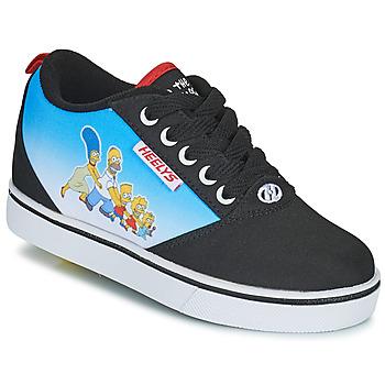 Zapatos Niños Zapatos con ruedas Heelys Pro 20 Prints Negro / Azul / Multicolor