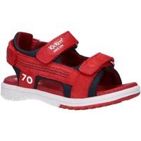 Zapatos Niño Sandalias de deporte Kickers 694880-30 PLANE Rojo