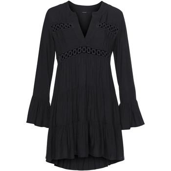 textil Mujer Vestidos cortos Lascana Blusa túnica de verano Lola Pearl Black