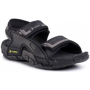 Zapatos Niños Sandalias Rider SANDALIAS VELCRO NIÑO  82817 Negro