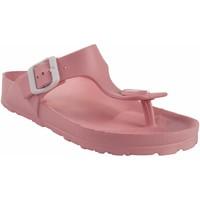 Zapatos Mujer Chanclas Kelara Playa señora  k12018 rosa Rosa