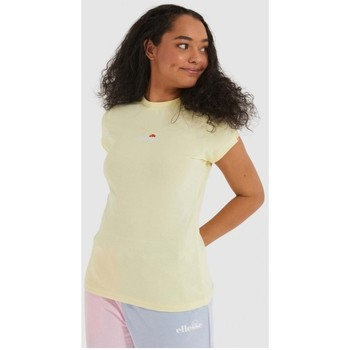 textil Mujer Camisetas manga corta Ellesse Camiseta  CI Ladies SGJ11885 LIGHTYELL AMARILLO