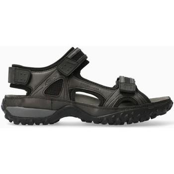 Zapatos Hombre Sandalias Mephisto REGENT Negro