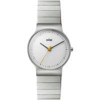 Relojes & Joyas Mujer Relojes analógicos Braun Brawn BN0211SLBTL, Quartz, 31mm, 3ATM Plata