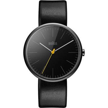 Relojes & Joyas Hombre Relojes analógicos Braun Brawn BN0172BKBKG, Quartz, 42mm, 3ATM Negro