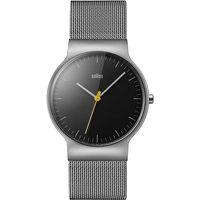 Relojes & Joyas Hombre Relojes analógicos Braun Brawn BN0211BKSLMHG, Quartz, 38mm, 3ATM Plata