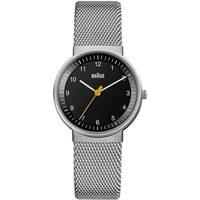 Relojes & Joyas Mujer Relojes analógicos Braun Brawn BN0031BKSLMHL, Quartz, 33mm, 5ATM Plata