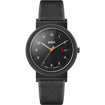 Relojes & Joyas Hombre Relojes analógicos Braun Brawn AW10EVOB, Quartz, 39mm, 3ATM Negro