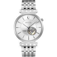 Relojes & Joyas Hombre Relojes analógicos Bulova 96A235, Automatic, 40mm, 3ATM Plata