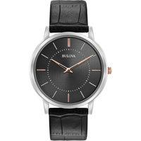 Relojes & Joyas Hombre Relojes analógicos Bulova 98A167, Quartz, 40mm, 3ATM Plata
