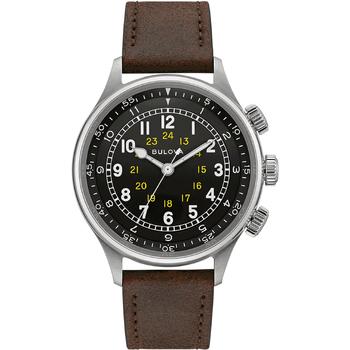 Relojes & Joyas Hombre Relojes analógicos Bulova 96A245, Automatic, 42mm, 3ATM Plata