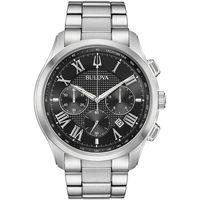 Relojes & Joyas Hombre Relojes analógicos Bulova 96B288, Quartz, 47mm, 3ATM Plata